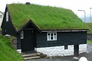 Norðragøta on Eysturoy, Faroe Islands. The nam...