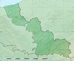 (Voir situation sur carte: Nord)