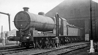 L&YR Class 31 - No. 12928 at Normanton Locomotive Depot on 25 May 1947