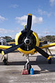 North American T-28A Trojan USAF N9102Z HeadOn Tall TICO 13March2010 (14412774979).jpg