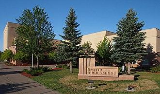 North High School (North St. Paul, Minnesota) - North High School from the northeast