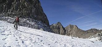 Palisade Glacier - Climbing the Palisade Glacier
