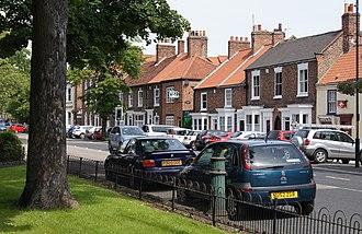 Norton, County Durham - Image: Norton High Street Stockton on Tees