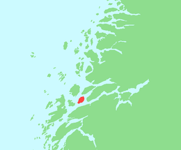 Location in Nordland