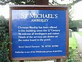Notice board for St Michael's church - geograph.org.uk - 1022942.jpg