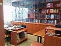 Notranjost Visošolske knjižnice, Fakultete za management (Univerza na Primorskem).jpg