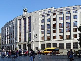 Economy of the Czech Republic - Czech National Bank in Prague