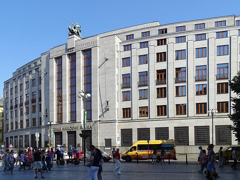 Budova ČNB v Praze