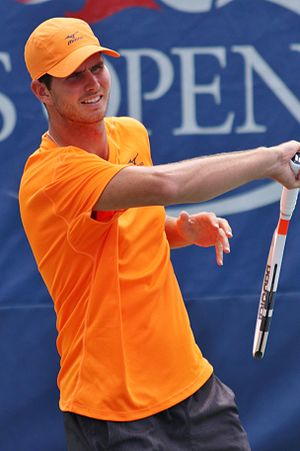 Dennis Novikov - Novikov at the 2016 US Open