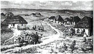 Melitopol - Novoalexandrovskaya sloboda, Redin and Fomin painting
