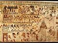 Nubian Tribute Presented to the King, Tomb of Huy MET DT221112.jpg