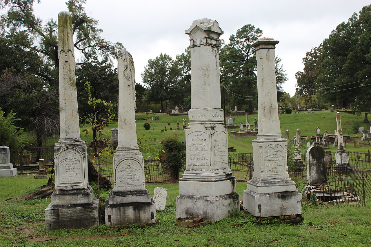 Haunted Oakland Cemetery in Shreveport, Louisiana