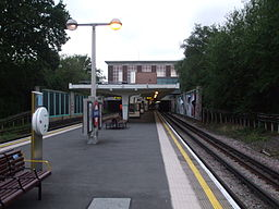 Oakwood station look eastbound