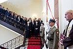 Odsłonięcie tablicy upamiętniającej Ofiary katastrofy smoleńskiej w Kancelarii Premiera (2).jpg