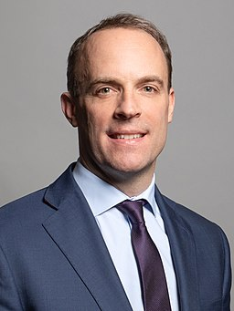 Official portrait of Rt Hon Dominic Raab MP crop 2