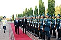 Official welcoming ceremony of Ilham Aliyev in Almaty was held 02.jpg