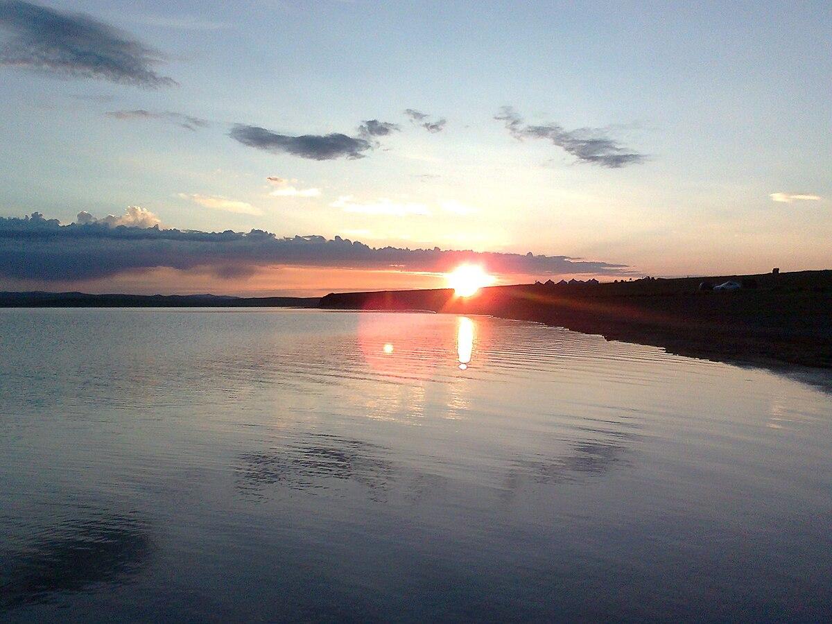 Ögii Lake - Wikipedia