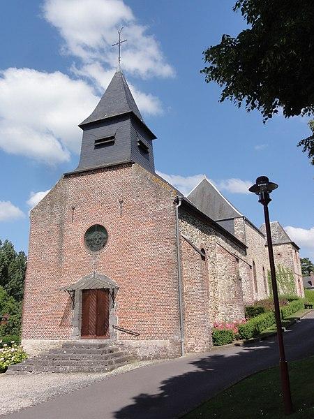 Ohis (Aisne) église