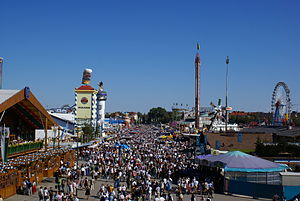 Outline of Germany - The Oktoberfest in Munich is the world's largest fair