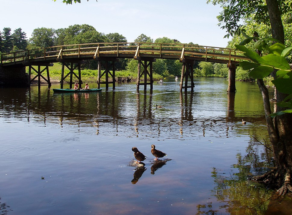 Old North Bridge, Concord, Massachusetts, July 2005