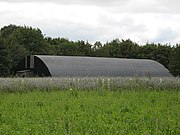Old aircraft hangar - geograph.org.uk - 537771