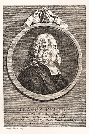 Olof Celsius - Olof Celsius (the elder). Engraving.
