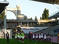 Olympique lyonnais féminines - Entrainement.JPG