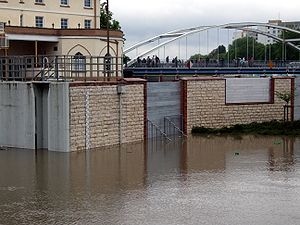 2010 Central European floods - Flood in Opole