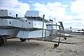 Optimist sailing dinghies on trailers, Municipal Sailing Center of Plouescat.jpg