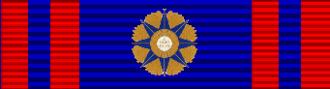 Tim Fischer - Image: Order Pius Ribbon 1kl