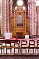Orgue de chœur, Basilique Notre Dame de Bonne Nouvelle, Rennes, France.jpg