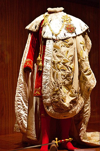 Order of Leopold (Austria) - Robe of the Order