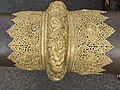 Ornate Brass Decoration on Tibetan Dungchen.jpg