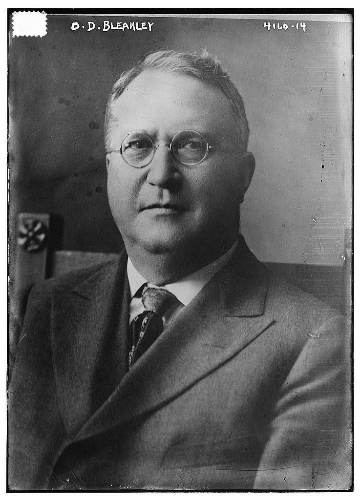 Orrin Dubbs Bleakley circa 1915