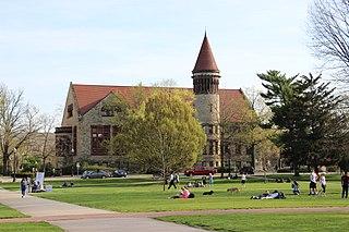 University, Hayes and Orton Halls United States historic place