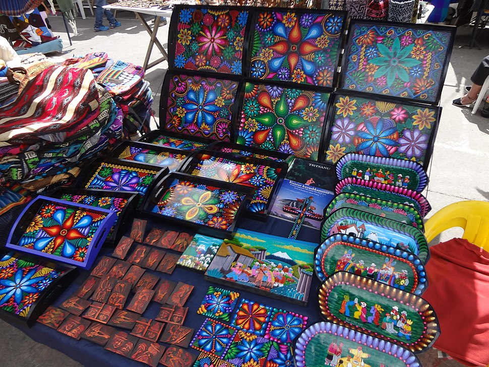 Otavalo Artisan Market - Andes Mountains - South America - photograph 007
