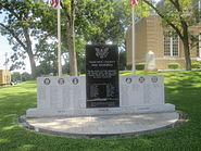 Ouachita County, AR, Veterans Monument IMG 2239