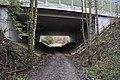 Pörtschach Leonstainer Waldweg Autobahnbrücke 06012012 511.jpg