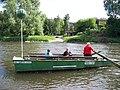 Přívoz Vrané, loď u Strnad.jpg
