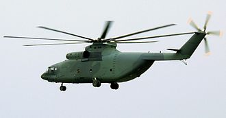 Mil Mi-26 - A Mi-26 in a military parade over Caracas, Venezuela