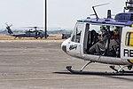 PAF UH-1 Huey and USAF HH-60G at Balikatan 2019.jpg