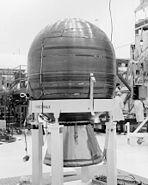 PAM-D rocket stage