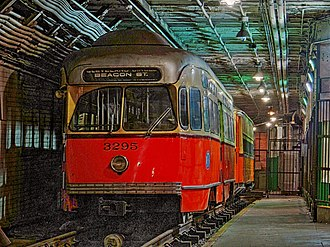 Boylston station - Image: PCC at Boylston HDR