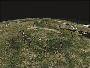 Photonic laser thruster - Image: PLT LEO Formation Flying