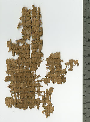 1 Peter 1 - Fragment containing 1 Peter 1:23-2:5 on Papyrus 125 (3rd/4th century).