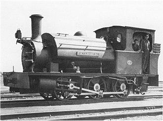 PPR 26 Tonner 0-6-0ST - Pretoria-Pietersburg Railway's Pietersburg, c. 1940