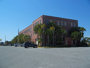 Apalachicola Northern Railroad - The Apalachicola Northern's former headquarters in Port St. Joe, Florida.