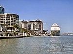 Pacific Dawn (ship) at Portside Wharf at Hamilton, Queensland 04.jpg