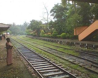 Padukka suburb in Western Province, Sri Lanka