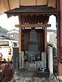 Pagoda on Ichibangai-dori Street in Shimabara, Nagasaki.jpg
